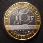 Photo numismatique  Monnaies Monnaies Françaises Cinquième république 10 Francs Genie 10 Francs Génie de la Bastille 1994 Abeille, G.827 BU