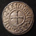 Photo numismatique  Monnaies Monnaies Carolingienne Charles II le Chauve Denier du Mans CHARLES II le Chauve, 840-877, denier du Mans, CIRATIA D I REX / CINOMANIS CIVITAS, 1,52 grms, Dep.559 SUPERBE