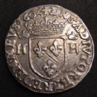 Photo numismatique  Monnaies Monnaies Féodales Dombes Teston DOMBES, Principauté, Henri II de Montpensier, teston trèvous 1604, 9,38 grms, PA.5148 TTB/TTB+