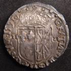 Photo numismatique  Monnaies Monnaies Royales Henri IV Quart d'Ecu de Navarre HENRI IV, 1/4 d'Ecu de Navarre 1591, Saint Palais, 9,52 grsm, DY.1238 TB à TTB