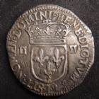 Photo numismatique  Monnaies Monnaies Royales Louis XIII 1/4 d'Ecu à la croix fleurdelisée LOUIS XIII, 1/4 d'Ecu à la croix fleurdelisée 1642 L Bayonne, 9,59 grms, L4L.16 TTB+/TTB