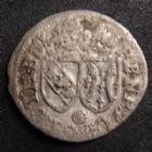 Photo numismatique  Monnaies Monnaies/médailles de Lorraine Henri II de Lorraine  HENRI II de Lorraine 1608-1624, gros Nancy, avec le G de Génétaire, 1,05 grms, Flon 30 P.676 TB+
