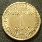 Photo numismatique  Monnaies Monnaies Françaises Troisième République Bon pour 1 franc 1 Francs chambre de commerce, bon pour 1 franc 1921, G.468 Petite tâche au revers, SUPERBE+