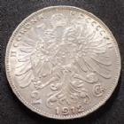 Photo numismatique  Monnaies Monnaies étrangères Autriche Hongrie, Ostereich Hungarn 2 Corona Autriche Hongrie, Ostereich Hungarn, Franz Joseph I, 2 corona 1912, KM.2821 petites traces sinon SUPERBE
