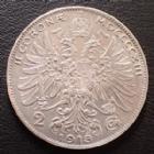 Photo numismatique  Monnaies Monnaies étrangères Autriche Hongrie, Ostereich Hungarn 2 Corona Autriche Hongrie, Ostereich Hungarn, Franz Joseph I, 2 corona 1913, KM.2821 petites traces sinon SUPERBE