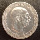 Photo numismatique  Monnaies Monnaies étrangères Autriche Hongrie, Ostereich Hungarn 1 Corona Autriche Hongrie, Ostereich Hungarn, Franz Joseph I, 1 corona 1915, KM.2820 TTB à SUPERBE