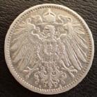 Photo numismatique  Monnaies Allemagne après 1871 Allemagne, Deutschland, Empire, Kaisereich 1 Mark 1 Mark 1902 A, J.17 TTB