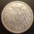 Photo numismatique  Monnaies Allemagne après 1871 Allemagne, Deutschland, Empire, Kaisereich 1 Mark 1 Mark 1905 A, J.17 TTB