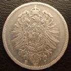 Photo numismatique  Monnaies Allemagne après 1871 Allemagne, Deutschland, Empire, Kaisereich 1 Mark 1 Mark 1874 F, J.17 TB+