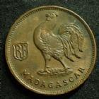 Photo numismatique  Monnaies Anciennes colonies Françaises Madagascar 50 centimes Madagascar MADAGASCAR, 50 centimes 1943, LEC.94 SUPERBE