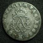 Photo numismatique  Monnaies Monnaies Royales Louis XIV 4 Sols aux 2 L LOUIS XIV, 4 sols aux 2 L couronnés 1692 M Toulouse, 1,48 grms, G.106 B à TB/TB+
