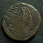 Photo numismatique  Monnaies Peuples Barbares Imitation du 3ème siècle Antoninien Barbares, barbaric, Barbarische, Imitation d'un antoninien de tétricus II, 3e siècle après JC, 2,49 grms, TTB