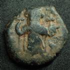 Photo numismatique  Monnaies Monnaies Byzantines Constant II, Constans II Follis CONSTANS II, Follis Constantinople en 641-668, 4,23 grms, Sear.1007 TB/TB+