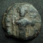 Photo numismatique  Monnaies Monnaies Byzantines Constant II, Constans II Follis CONSTANS II, Follis Constantinople en 641-668, 2,96 grms, Sear.1007 TB+/ B à TB
