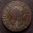 Photo numismatique  Monnaies Monnaies Royales Henri IV Double Tournois HENRI IV, double tournois 1610 T Nantes, DY.1273, 2,77 grms, TB/TTB