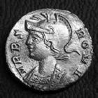 Photo numismatique  Monnaies Empire Romain CONSTANTIN I, CONSTANTINUS I, CONSTANTINO Follis, folles,  URBS ROMA, CONSTANTIN I, follis Trêves ( Trier) en 333-335, Argenture moderne ! SUPERBE/TTB+