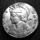 Photo numismatique  Monnaies Empire Romain CONSTANTIN I, CONSTANTINUS I, CONSTANTINO Follis, folles,  URBS ROMA, CONSTANTIN I, Follis Lyon 330-335, Argenture moderne !, SUPERBE+