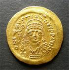 Photo numismatique  Monnaies Monnaies Byzantines 7ème siècle Solidus JUSTIN II 566.578 Solidus, Constantinople, victoria augggi, BC.349 QUASI SUPERBE