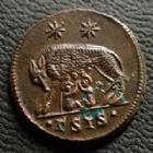 Photo numismatique  Monnaies Empire Romain CONSTANTIN I, CONSTANTINUS I, CONSTANTINO Follis, folles,  URBS ROMA, CONSTANTIN I, CONSTANTINUS I, Follis Siscia en 334-335, .rsis., 18 mm, 2,76 grms, RIC.240 SUPERBE/FDC
