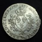 Photo numismatique  Monnaies Monnaies Royales Louis XV Ecu au bandeau LOUIS XV, Ecu au bandeau 1757 vaquette Pau, 29,06 grms, G.322a TB/TB à TTB