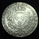 Photo numismatique  Monnaies Monnaies Royales Louis XVI 1/2 Ecu LOUIS XVI, 1/2 Ecu aux branches d'olivier 1780 W Lille, 14,32 grms, G.355 TB+/TTB