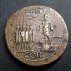 Empire RomainCALIGULACALIGULA, GAIUS, sesterce Rome en 37-38, ADLOCUT COH SC, 35 mm, 25,21 grms, RIC.32 TTB Rare!