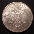 Photo numismatique  Monnaies Allemagne après 1871 Allemagne, Deutschland, Preussen, Prusse 2 mark, Zwei mark 2 Mark 1901, Prusse, Preussen, Wilhlem II, KM.522 presque SUPERBE