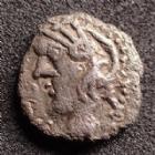 Photo numismatique  Monnaies Monnaies Gauloises Sequani, Sequanes Denier Q.DOCI.SAM.F SEQUANES, SEQUANI, denier Q.DOCI SAM F, cheval à gauche, LT.5405, 1,78 grms, TB à TTB