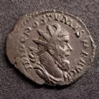 Photo numismatique  Monnaies Empire Romain POSTUME, POSTUMUS, POSTUMO Antoninien, antoninianus, antoniniane POSTUME, POSTUMUS, antoninien Lyon en 260, PM TR P COS II PP Postume debout à gauche, 3,18 grms, RIC Lyon 54, SUPERBE