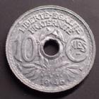 Photo numismatique  Monnaies Monnaies Françaises Gouvernement Provisoire 10 Centimes 10 Centimes zinc 1946 B, Beaumont le Roger, G.292 SUPERBE+