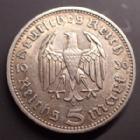 Photo numismatique  Monnaies Allemagne après 1871 allemagne, deutschland, germany, dritte reich, 3 em reich  5 mark Hindenburg 5 mark Hindenburg 1936 A, J.360 TTB+