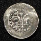 Photo numismatique  Monnaies Monnaies/medailles d'Alsace Strasbourg Hälbling STRASBOURG, STRASSBURG, Hälbling au Lis 15-16e siècle, 11-12 mm, 0,16 grm EL.315 Var. TTB à SUPERBE Rare!!