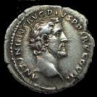 Photo numismatique  Monnaies Empire Romain ANTONIN LE PIEUX, ANTONINUS PIUS, ANTONINO PIO Denier, denar, denario, denarius ANTONIN LE PIEUX ET MARC AURELE, ANTONINUS PIUS AND MARCUS AURELIUS, denier Rome en 140, jolie monnaie!, 18 mm, 3,05 grms, RIC.415b Presque SUPERBE