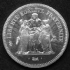 Photo numismatique  Monnaies Monnaies Françaises Cinquième république 50 francs Hercule 50 francs Hercule 1977, Gad.882 FDC