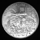 Photo numismatique  Monnaies Monnaies Françaises Cinquième république 100 francs La Liberté Retrouvée 100 francs La Liberté Retrouvée 1994, Gad.935 SPL (superbe+)