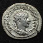 Photo numismatique  Monnaies Empire Romain GORDIEN III, GORDIAN III, GORDIANUS III, GORDIANO III Antoninien, antoninianus, antoniniane GORDIEN III, GORDIANUS III, Antoninien Rome en 241-243, Aeternitati Avg, 4,11 grms, RIC.83 Flan large TTB+