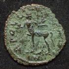Photo numismatique  Monnaies Empire Romain GALLIEN, GALLIENUS, GALLIAN, GALLIANO Antoninien, antoninianus, antoniniane GALLIEN, GALLIENUS, antoninien Rome en 267-268, Centaure à gauche, 17-19 mm, 1,57 grms, RIC.163 B/TB