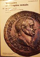 Photo numismatique  Librairie Livres d'occasion Empire romain Bibliothèque Nationale Les monnaies de l'Empire Romain, du soulèvement de 68 ap.JC à Nerva par J.B Giard, 1998, 532 p. 132 pl.N&B, 16pl.couleur, quasi Neuf