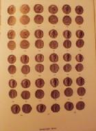 Photo numismatique  Librairie Livres d'occasion Empire romain Bibliothèque Nationale Les monnaies de l'Empire Romain, du soulèvement de 68 ap.JC à Nerva par J.B Giard, 1998, 532 p. 132 pl.N&B, 16pl.couleur, quasi Neuf