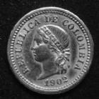 Photo numismatique  Monnaies Monnaies étrangères Colombie, Colombia 5 Centavos Colombie, Colombia, 5 centavos 1902, KM.191 TTB à SUP