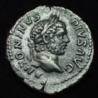 Photo numismatique  Monnaies Empire Romain CARACALLA Denier, denar, denario, denarius CARACALLA, denier Rome en 210, PONTIF TR P XIII COS III, 2,97 grms, RIC.116a TTB+