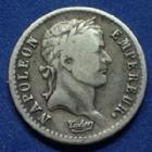 Photo numismatique  Monnaies Monnaies Françaises 1er Empire Demi franc NAPOLEON I, demi franc 1808 I Limoge revers République, Gad.398 TB