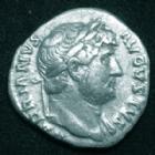 Photo numismatique  Monnaies Empire Romain HADRIEN, HADRIANUS, HADRIANO, HADRIAN Denier, denar, denario, denarius HADRIEN, HADRIANUS, denier Rome en 125-128, COS III Minerve, 3,25 grms, RIC.330 TTB
