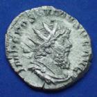 Photo numismatique  Monnaies Empire Romain POSTUME, POSTUMUS, POSTUMO Antoninien, antoninianus, antoniniane POSTUME, POSTUMUS, Antoninien Trèves en 266, FORTUNA AUG, 3,53 grms, RIC.60 TTB+