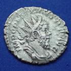 Photo numismatique  Monnaies Empire Romain POSTUME, POSTUMUS, POSTUMO Antoninien, antoninianus, antoniniane POSTUME, POSTUMUS, antoninien Trèves en 262, MINER FAVTR, 2,86 grms, RIC.74 TTB+/TTB