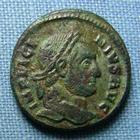 Photo numismatique  Monnaies Empire Romain LICINIUS I, LICINIO I,  Follis réduit LICINIUS Ier, follis réduit, DN LICINI AUGUSTI, Cohen 15 TTB