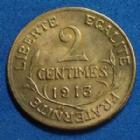 Photo numismatique  Monnaies Monnaies Françaises Troisième République 2 Centimes 2 Centimes Daniel Dupuis 1913, Gad.107 SPL