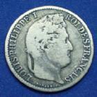 Photo numismatique  Monnaies Monnaies Françaises Louis Philippe 50 Centimes LOUIS PHILIPPE, 50 centimes 1847 A, Gad.410 B à TB