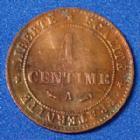 Photo numismatique  Monnaies Monnaies Françaises Troisième République 1 Centime 1 Centime Cérès 1884 A, Paris, Gad.88 SUPERBE