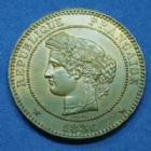Photo numismatique  Monnaies Monnaies Françaises Troisième République 10 Centimes 10 Centimes Cérès 1886 A, Paris, Gad.265a (SUP+) SPL